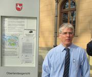 Rechtsanwalt Nickel vor dem OLG Celle